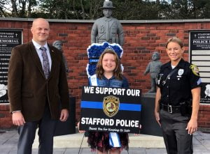 Junior Miss Stafford's Great Idea to Support Police, Annual Toy Drive