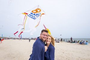 Uplifting Love Story: Couple Seals Deal With 'Marry Me?' Kite