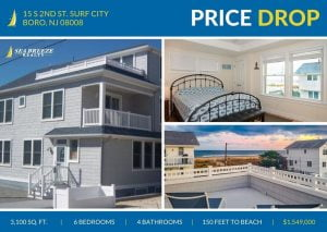 LBI Check out our beautiful 6 bedroom 4 bathroom home just 150 feet from the beach! …