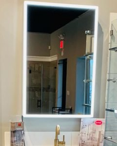 LBI Awesome  lighted mirrors and medicine cabinets with automatic defoggers by   com…