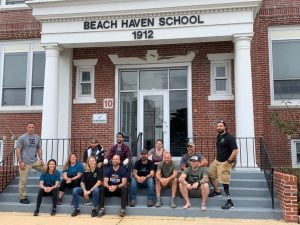 Veterans Visit Beach Haven as Part of Retreat
