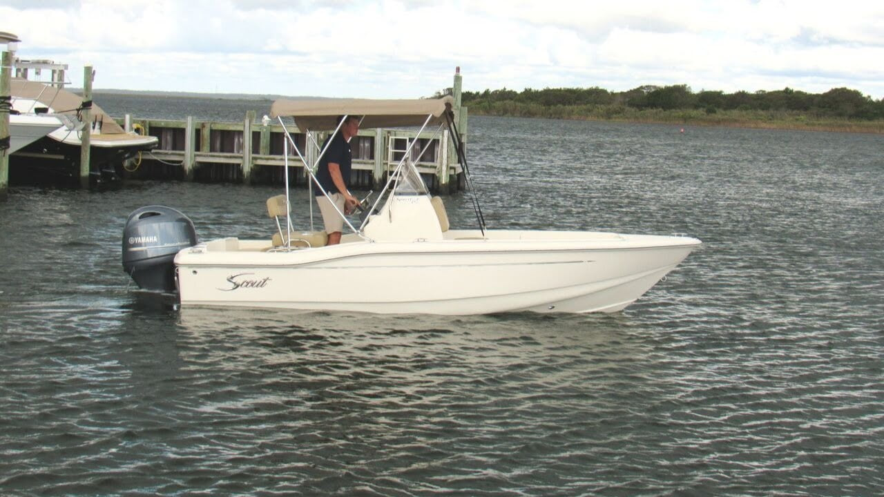 2020 Scout 175 Sportfish Boat For Sale at MarineMax Ship Bottom, NJ #LBI