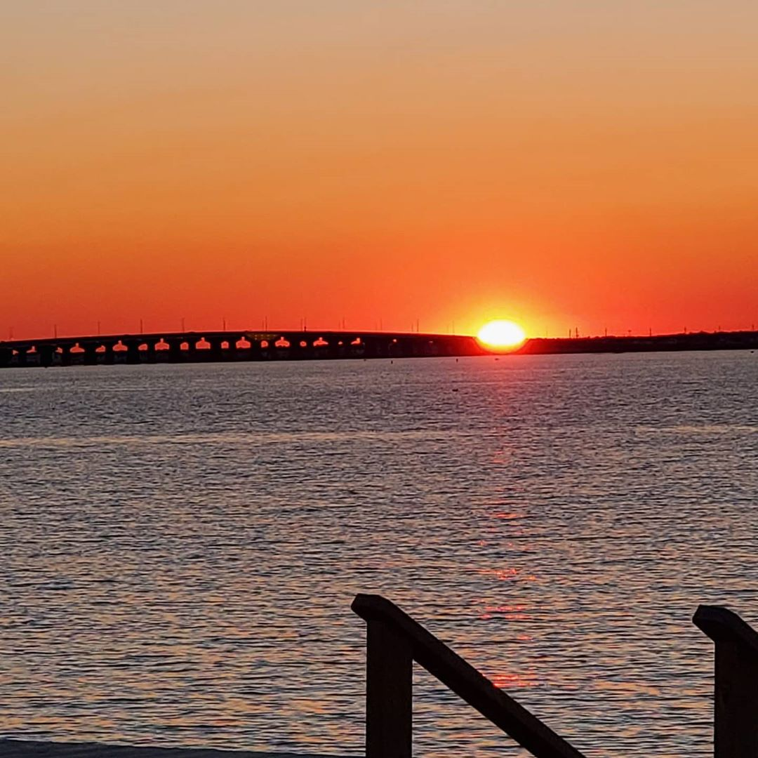 LBI A beautiful sunset after a beautiful day.  May you all find peace.          …