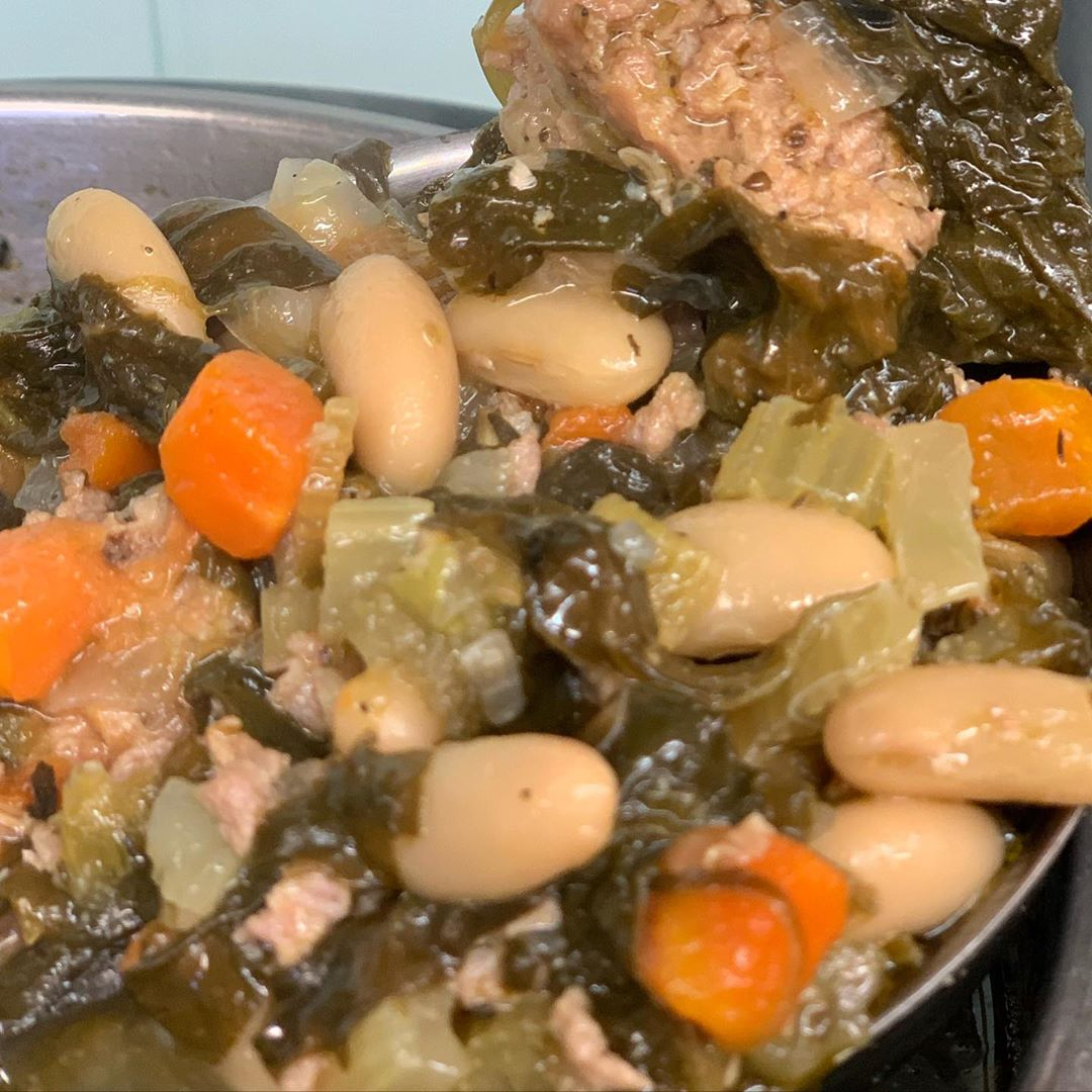 Read more about the article LBI As always homemade soups! Hot and ready at the Market!! Sausage ,bean and spinac…