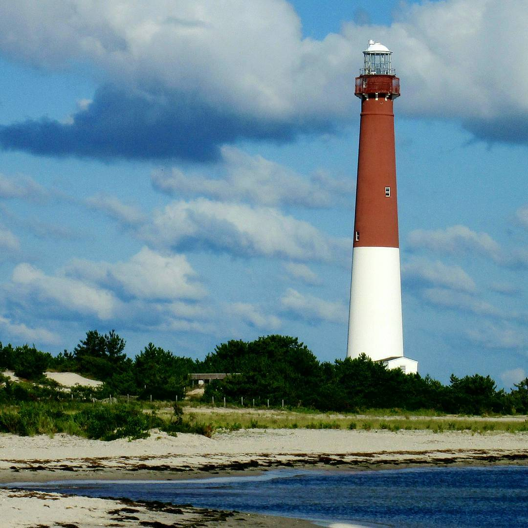 LBI Barnegat Lighthouse, Old Barney in Spring, Just Counting The Days,              …