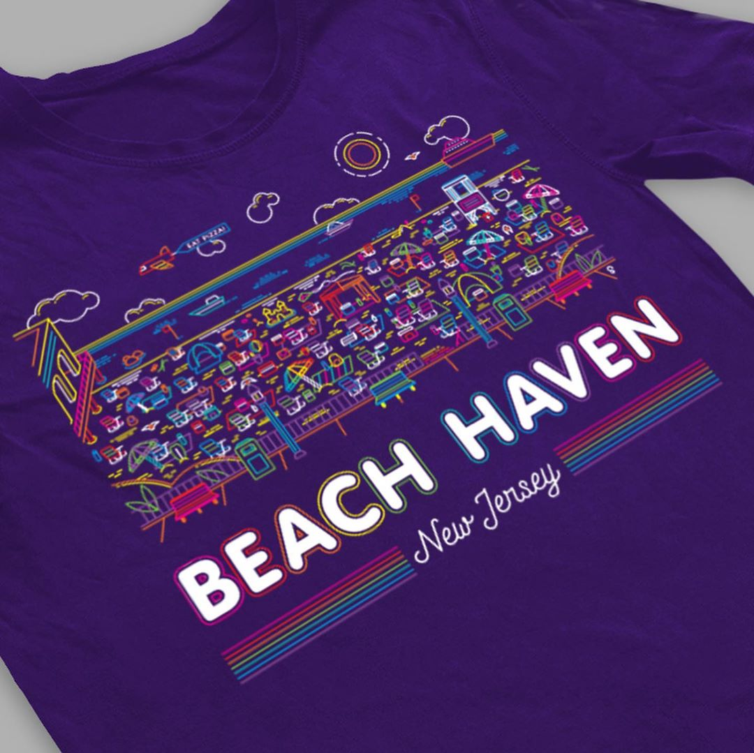 LBI Beach Haven NJ shirts! Click on the  link in our profile to pick your town, styl…