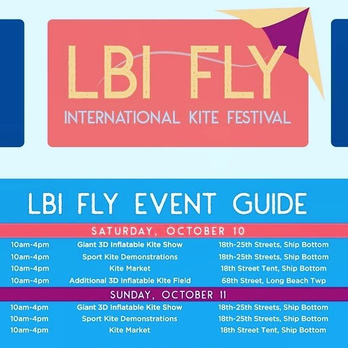 LBI Check out the LBI KITE FESTIVAL this weekend ~ brilliant kite displays on the be…