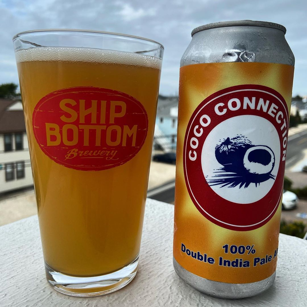 LBI Coco Connection by  a very drinkable double IPA conditioned on, you guessed it, …