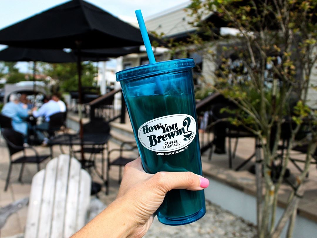 LBI Grab that last $3 refill of Jazzy Jack Cold Brew [in an HYB logo cup] before our…
