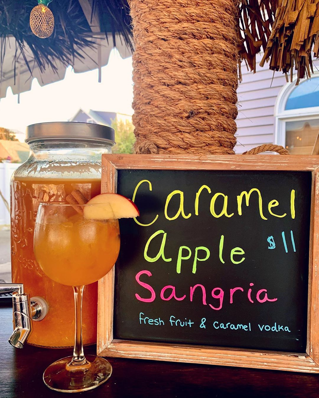 LBI Hello October  Come on Out & Enjoy this Perfect Fall Weather with a Sangria  Liv…