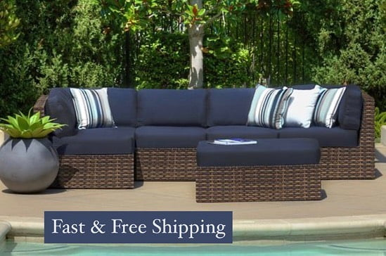LBI INDOOR & OUTDOOR wicker!   ***sunbrella cushions!    Rattan Patio & Fireplace Sh…