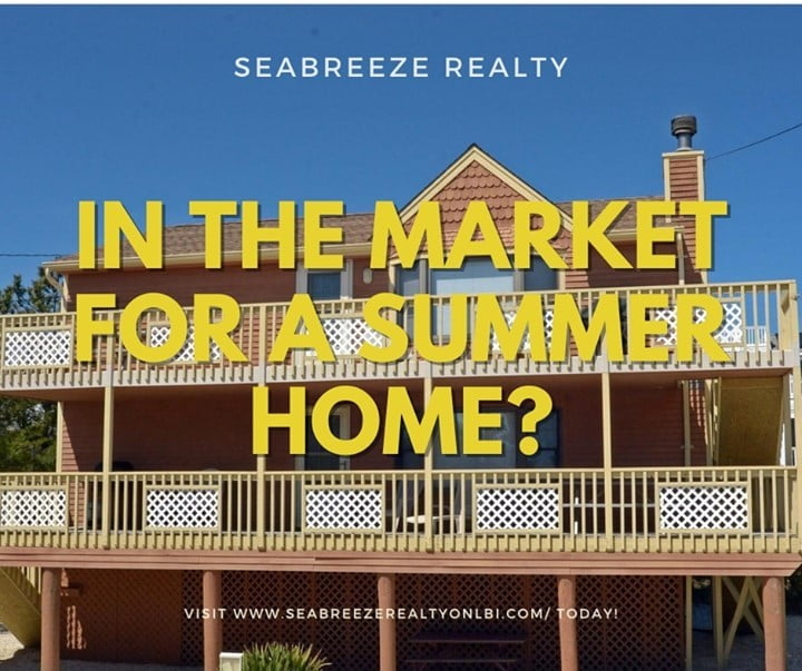 LBI In the market for a summer home in LBI? Look no further than Seabreeze Realty! C…