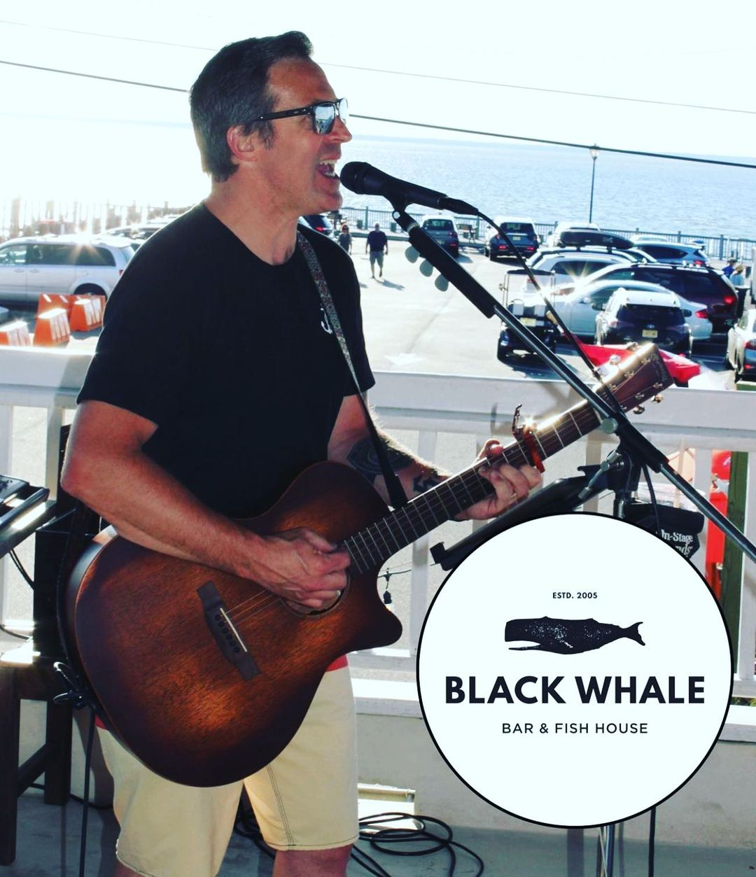 LBI It's Black Whale Thursday!! I'll be playing 6-9 this evening behind the outside …