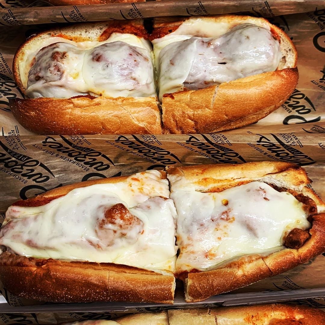 LBI Meatball or Chicken Parm Sandwiches are the way to go for lunch or for a quick a…