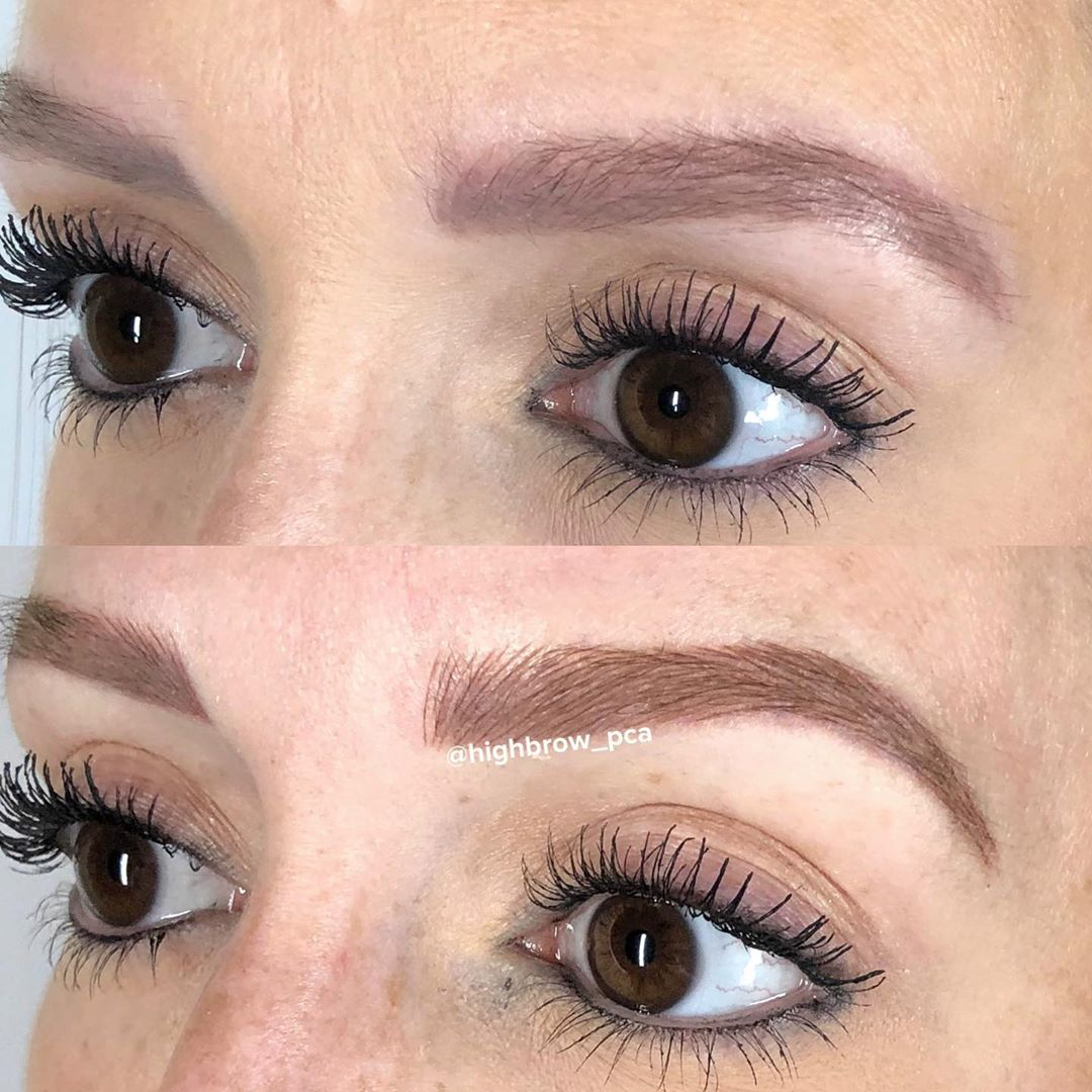 Read more about the article LBI Microblading over old machine work from another artist… this is a great exampl…