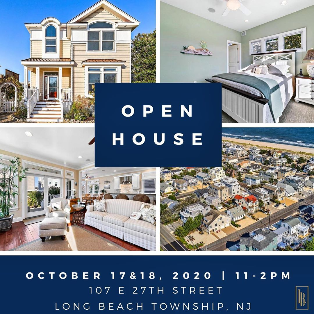 LBI OPEN HOUSE  this Saturday and Sunday  . Only 8 homes away from the ocean  link i…