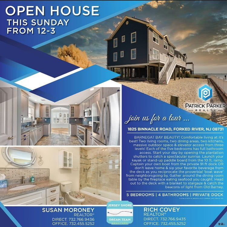 LBI Open House     Today 12-3 'Barnegat Bayfront Beauty!'…