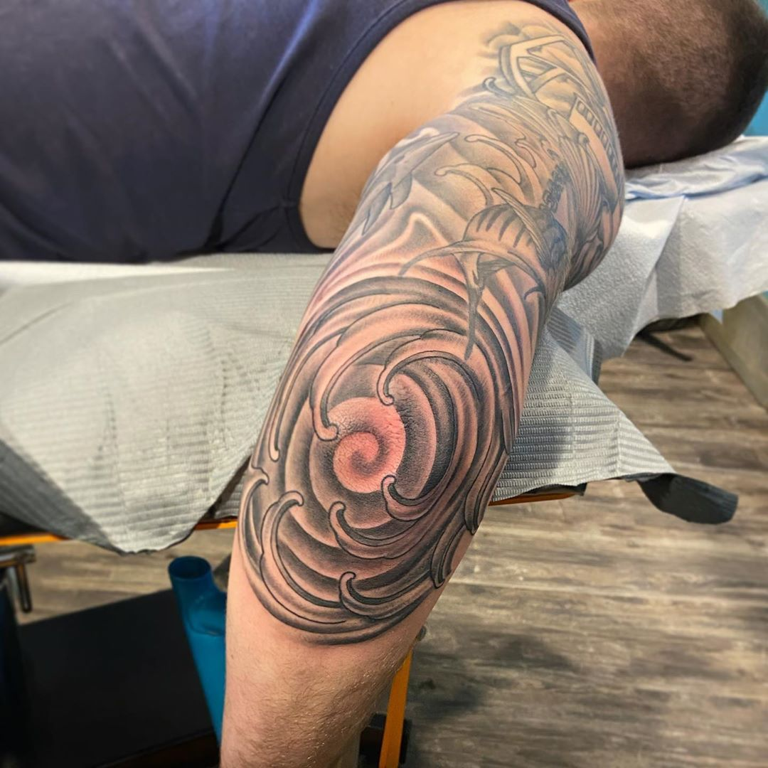 LBI Pain makes us stronger (and infinitely cooler in terms of getting an elbow tatto…