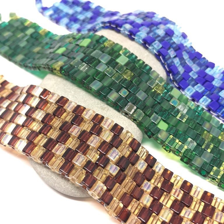 LBI Peyote stitch. We have kits for take home or learn a new craft.  Workshops avail…