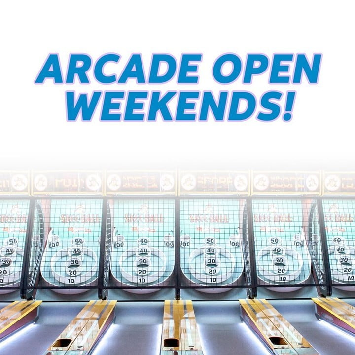 LBI The arcade is open weekends!  Check out our October hours   ⠀ ⠀ Saturdays: 12p…