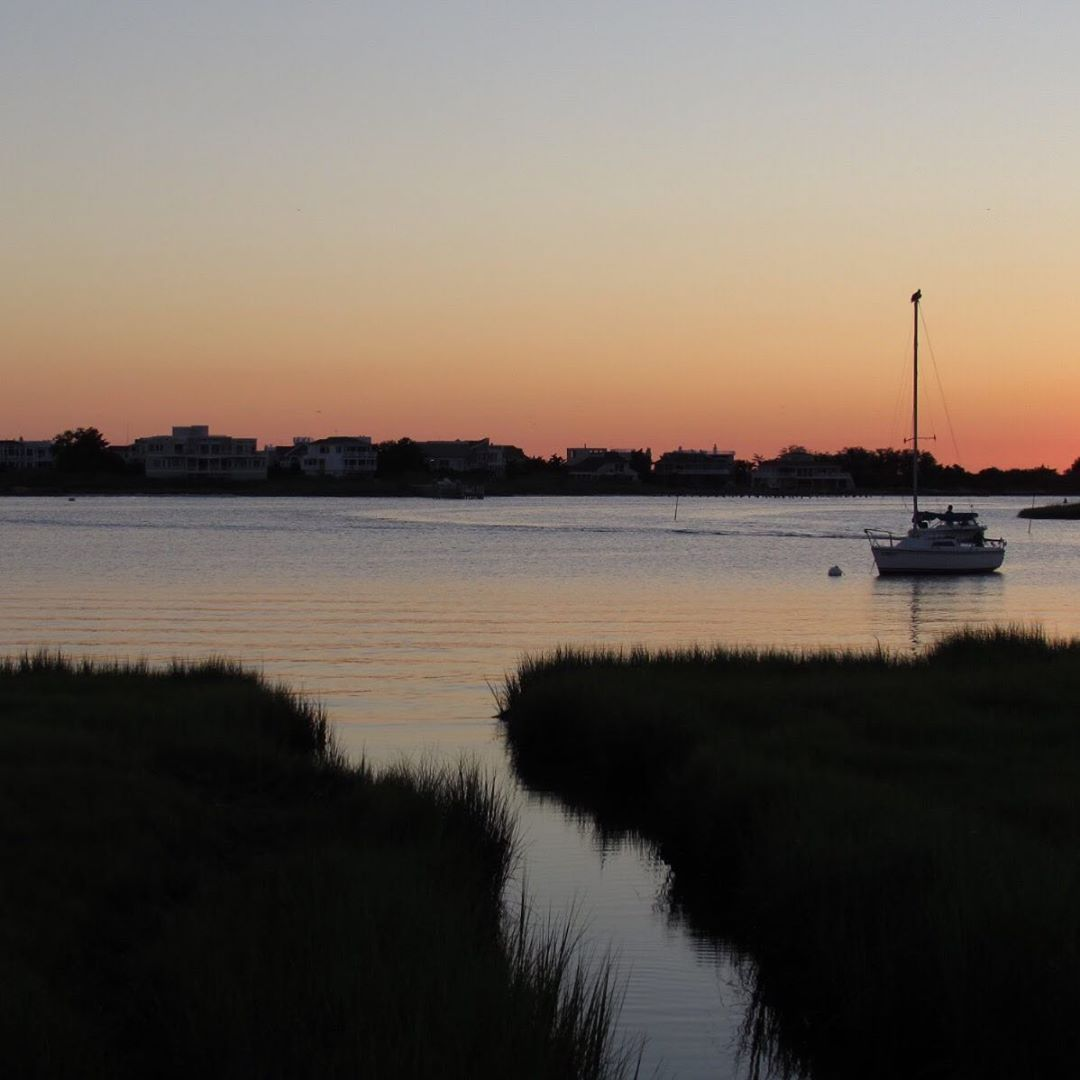 LBI These early sunsets make me miss summer     …