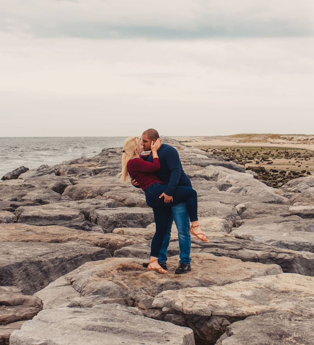 LBI They brought the love to the Jersey Shore  Emma & Zavier planned a romantic litt…
