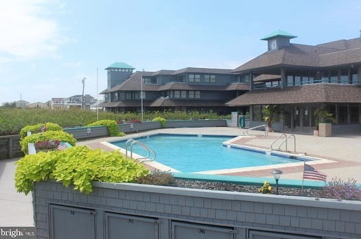 LBI This condominium offers private direct ocean access, an oceanfront pool, outdoor…