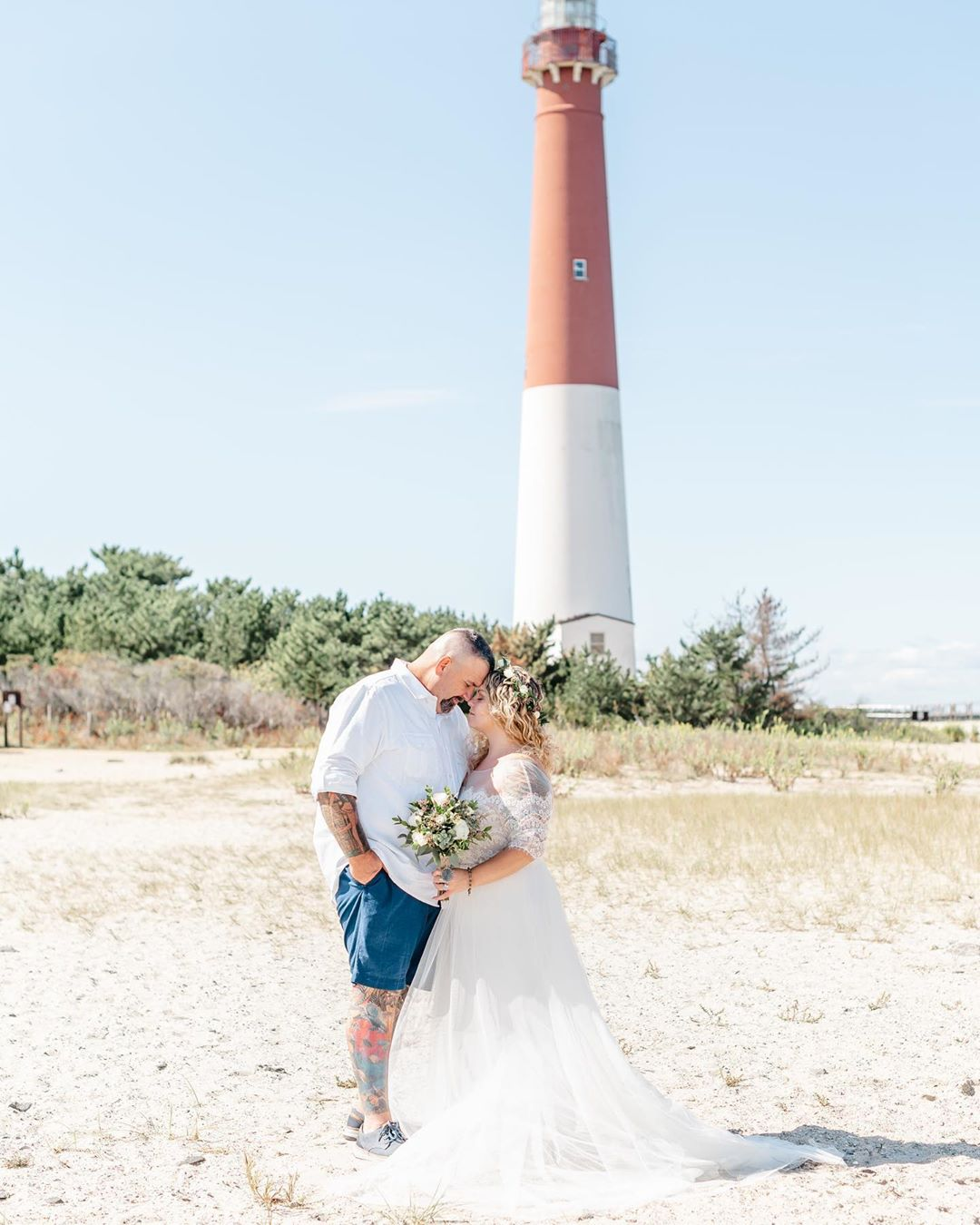 LBI This perfect beach elopement just got delivered to these newlyweds!   check your…