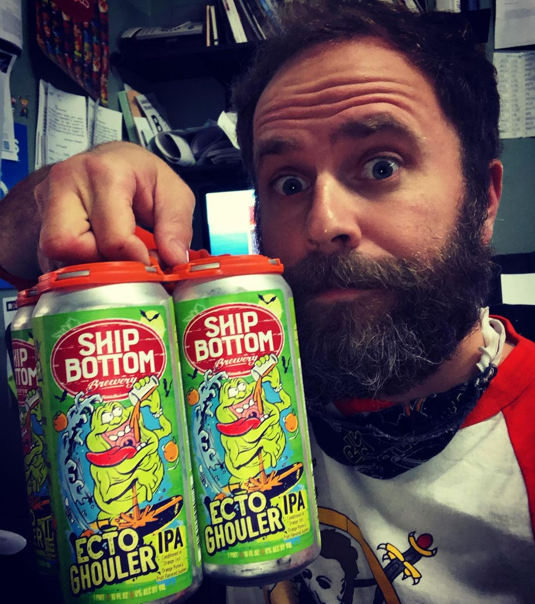 LBI Tried me some Ecto-Ghouler today from  Big thanks to  for picking this up for me…