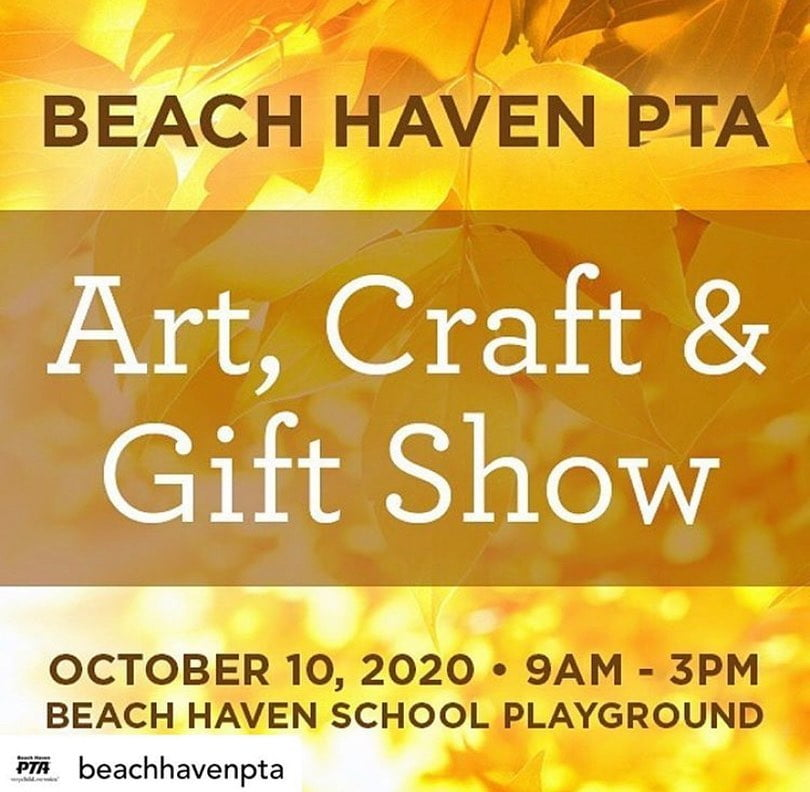 LBI Visit  at the Craft Fair, Saturday, October 10, hosted by   It's all about gold …