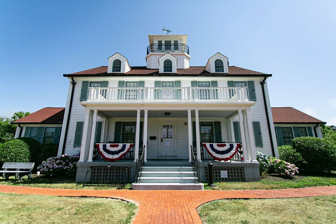 LBI We love that the current day Barnegat Light Borough Hall was once a Coast Guard …