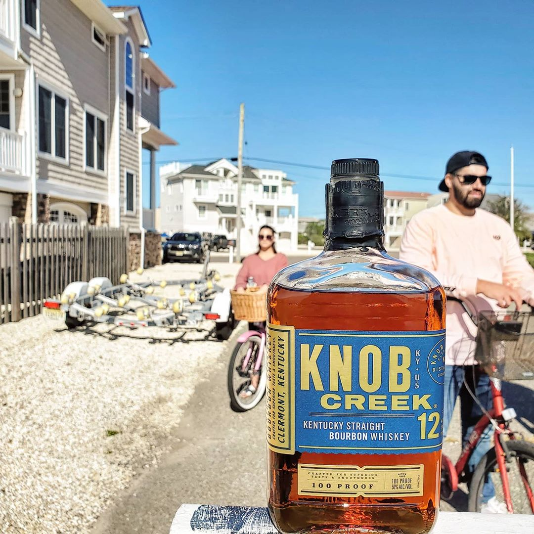 LBI Which Knob Creek is your favorite? For us, it's the 9 year, 120 proof! Buttery g…