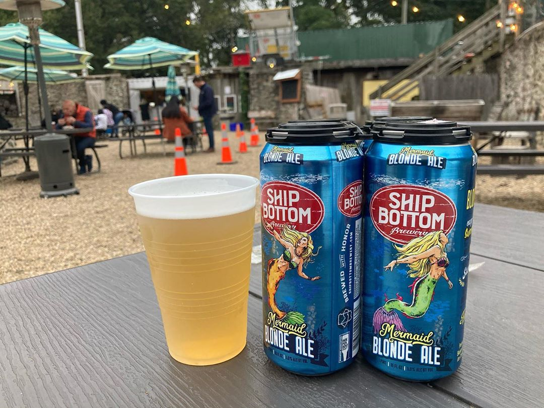 LBI Why not a quick  Mermaid Blonde Ale before shopping at  ???         …
