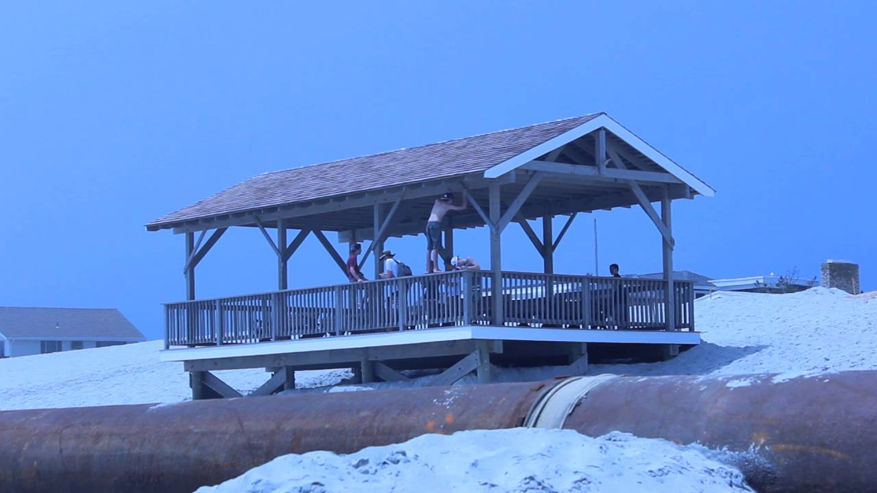 Punks Vandalize 5th Street Gazebo in Beach Haven, NJ #LBI