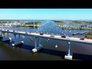 Read more about the article Trump Boat Parade Oct 24th Surf City, NC Topsail Island with #Wilbur #LBI