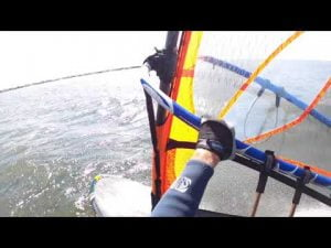 Windsurfing at LBI, NJ 2020 #LBI