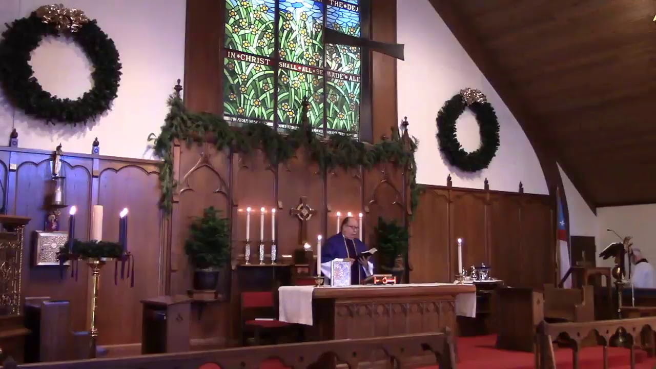 Read more about the article Live Video Stream Sunday Service Holy Innocents Episcopal Church Beach Haven NJ December 24, 2017 #LBI