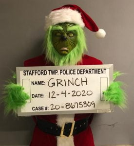 Read more about the article Stafford Cops Apprehend Grinch, Save Christmas