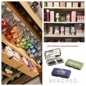 LBI  STUFF A STOCKING With all of their FAVORITES at BEACHED! FINAL SHOPPING WEEKEND…