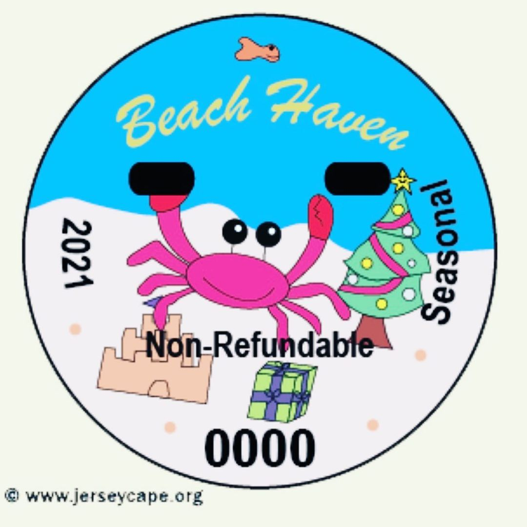 LBI Beach tags! Can't visit a Jersey beach without 'em so might as well look cute do…