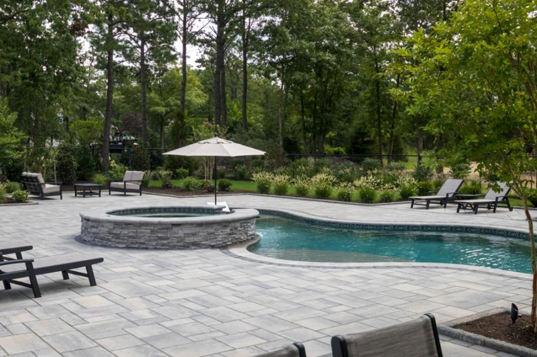 LBI Contact David Ash Jr. for completely custom patios, pools, fireplaces, living ar…