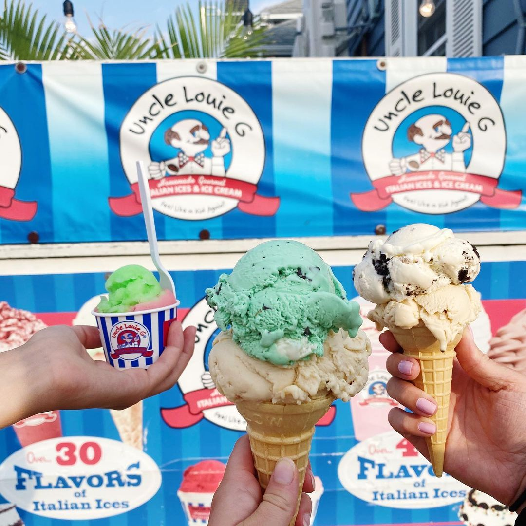 LBI Dreaming of sunny days & ice cream trips  What's your go to flavor?? Let us know…