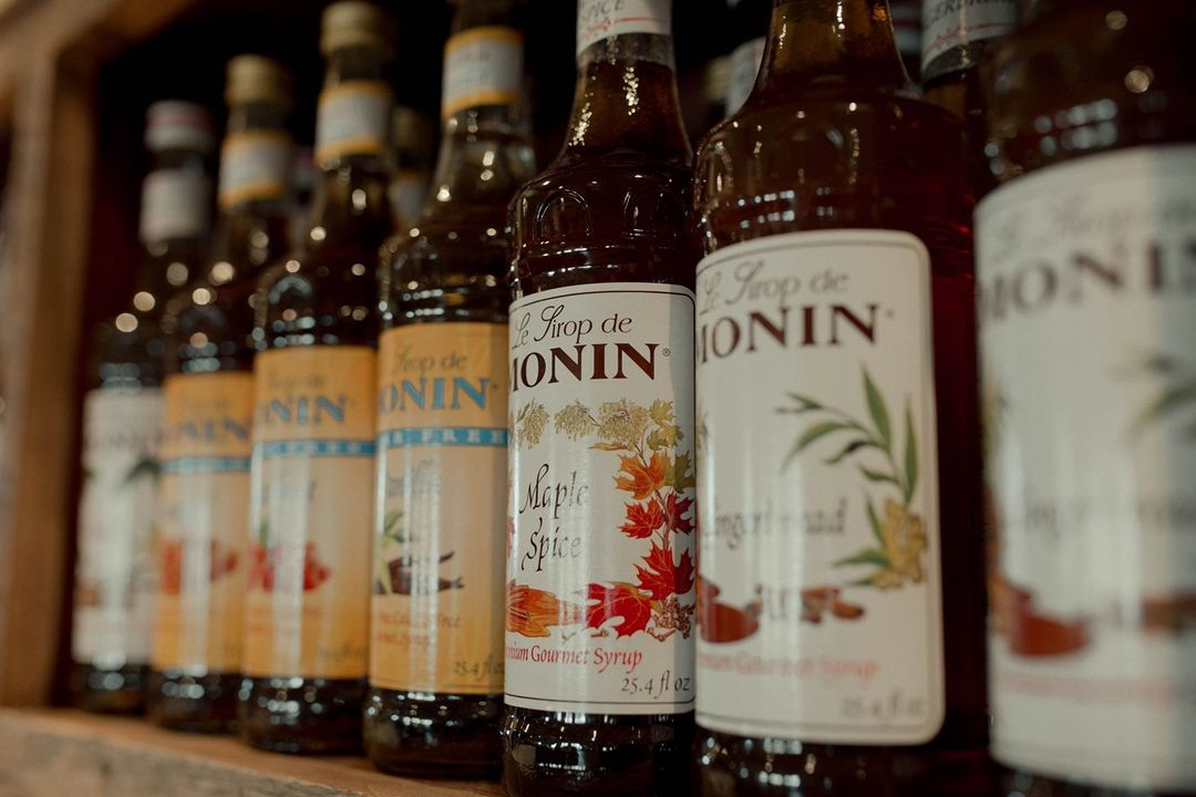 LBI Fun fact: you can actually purchase a bottle of Monin syrup from us! Add some pi…