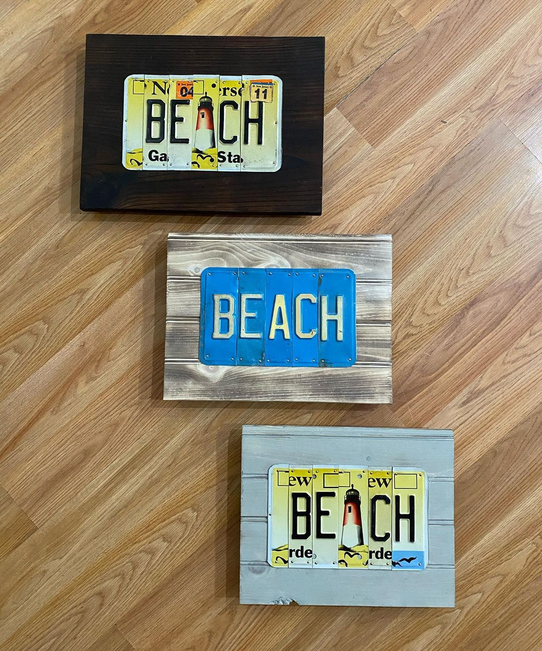 LBI Just some of the signs that will be headed to  in Hightstown. The beach signs ma…