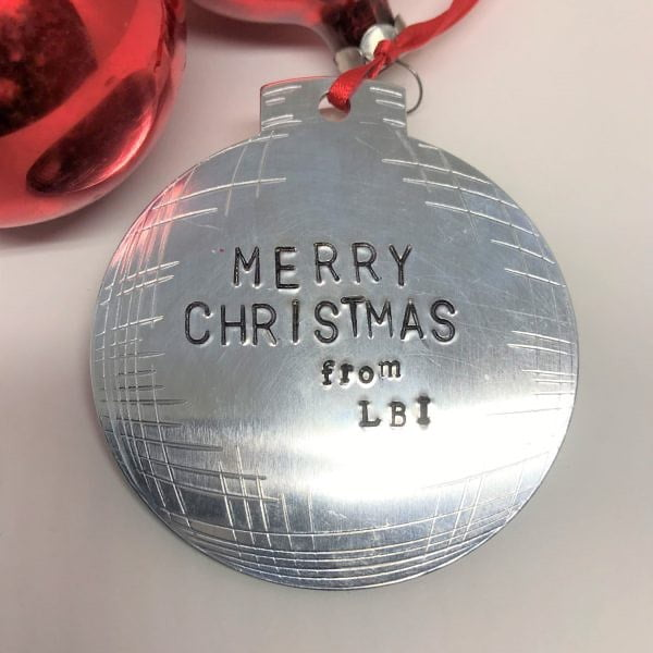 LBI LBI Charm or we can personalize for your family Christmas Ornament. This Custom …