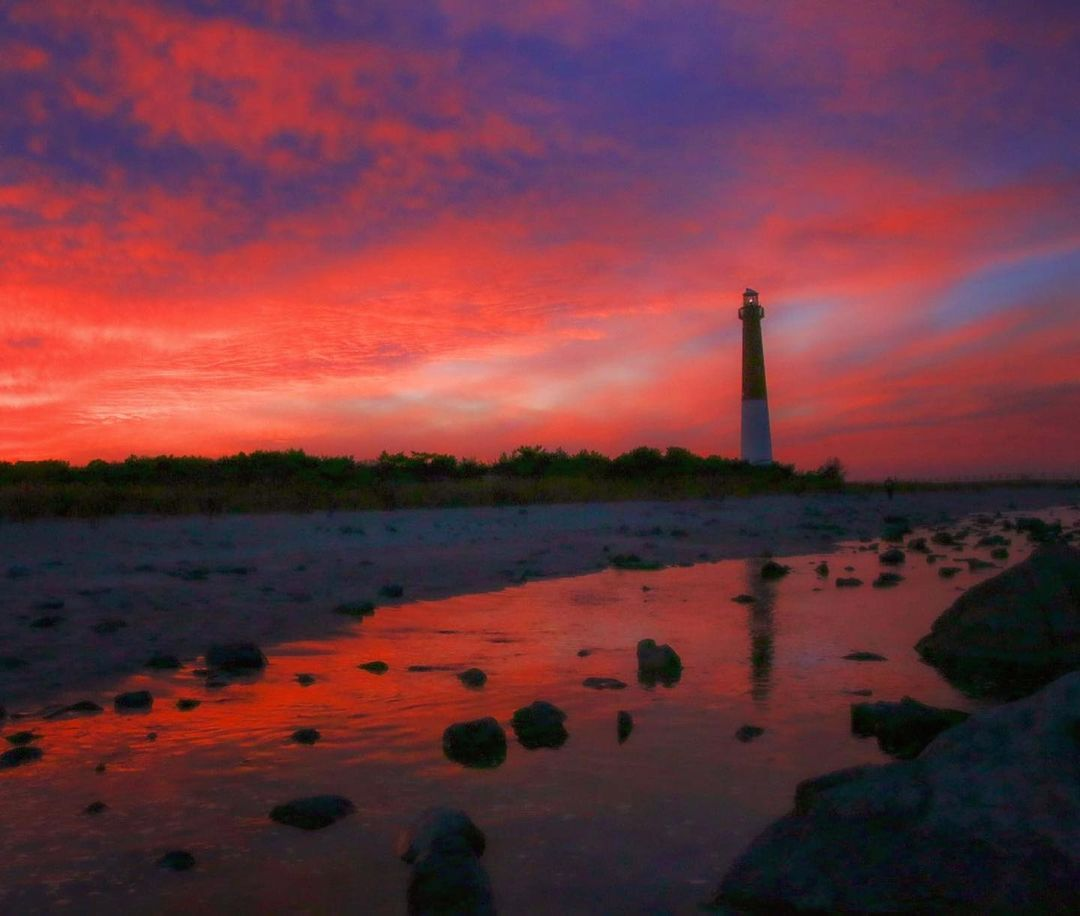 LBI Majestic Sunset at Old Barney.12-13.             …