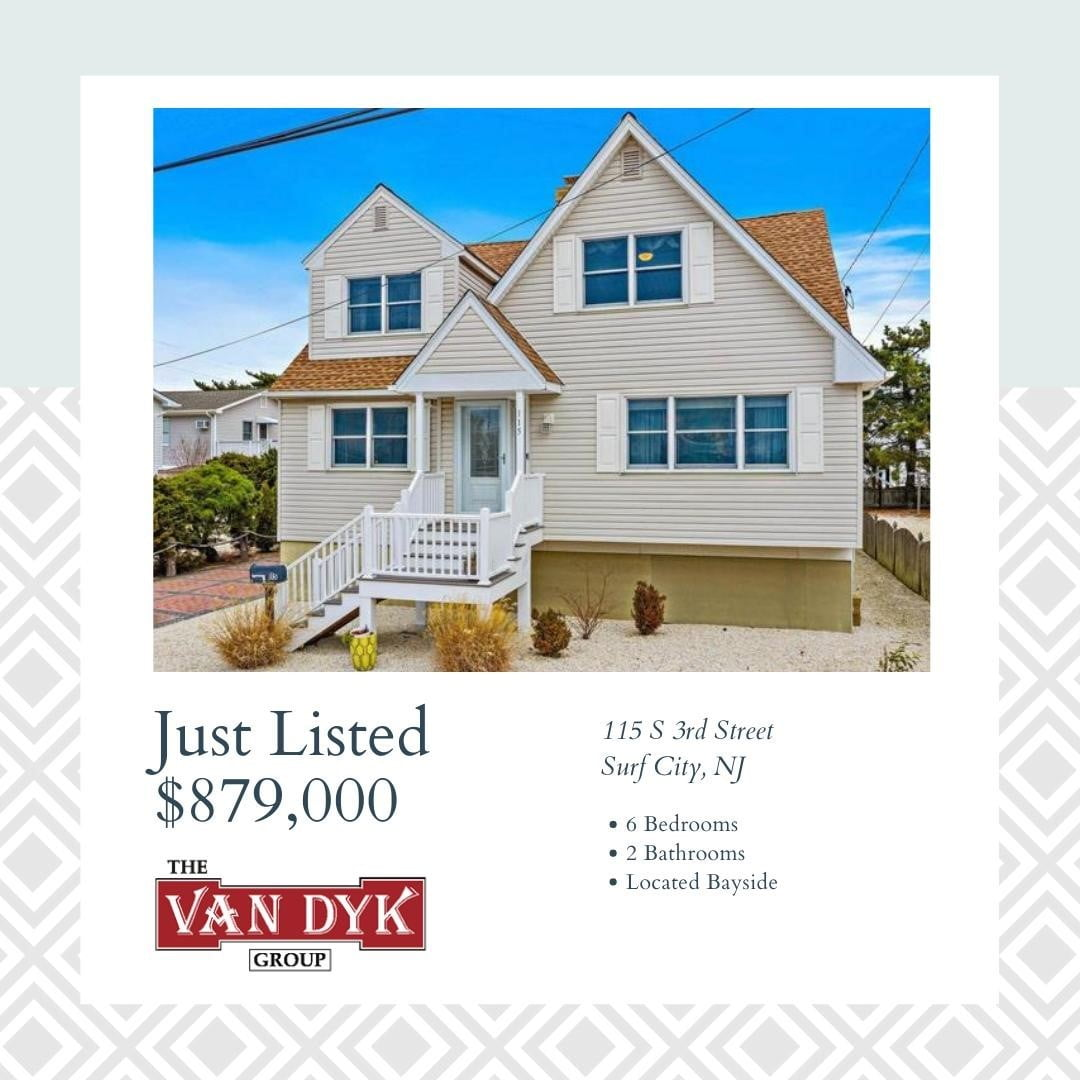 LBI NEW LISTING!  Beautifully renovated and sizeable cape cod just a stones throw to…