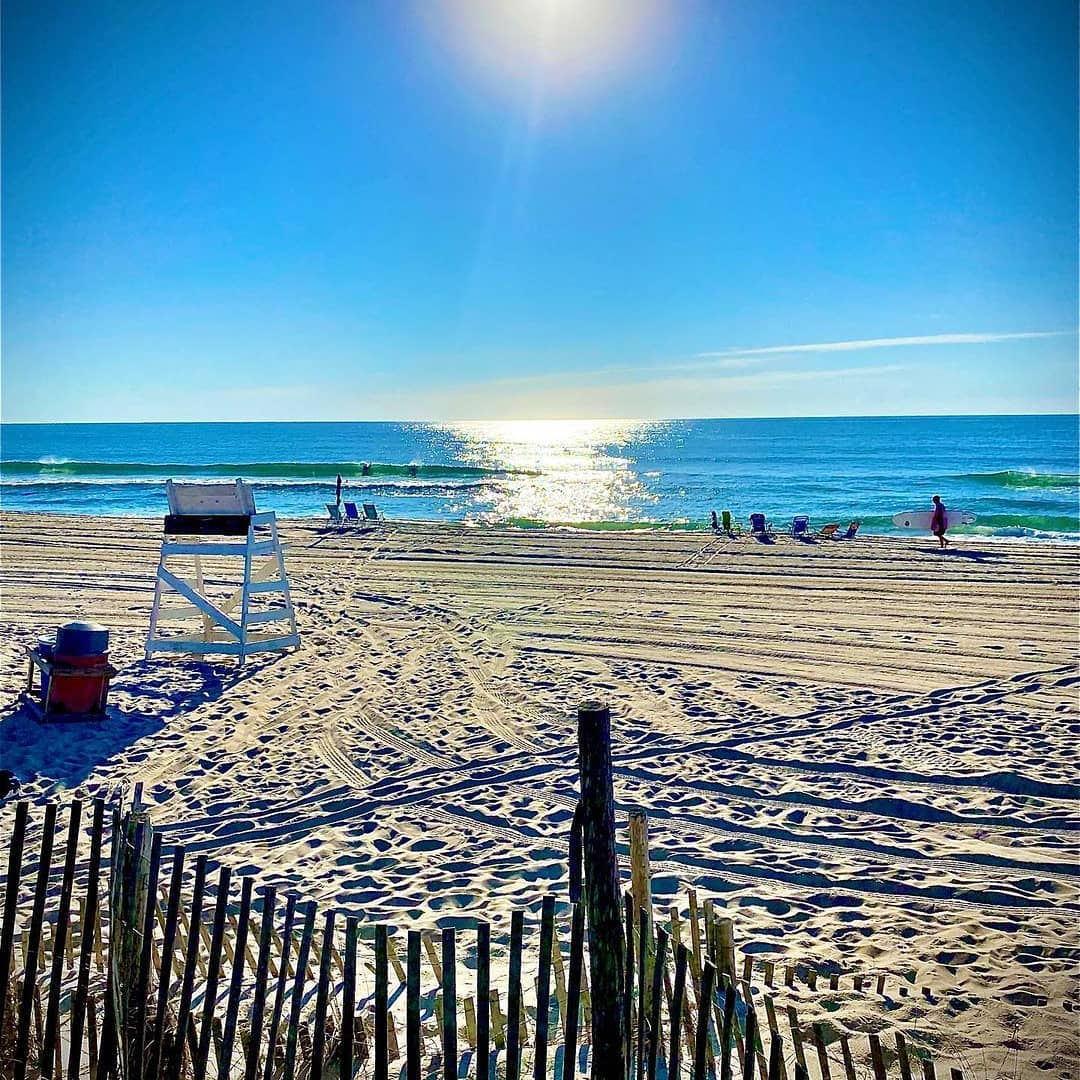 Read more about the article LBI Perfect for Dabbing Yoga Flows   Morning beach two ….                         …