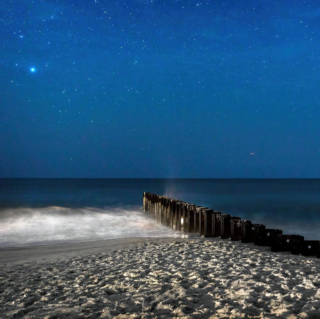 LBI Starry Long Beach Island  Took a detour on my way home from a portrait session l…