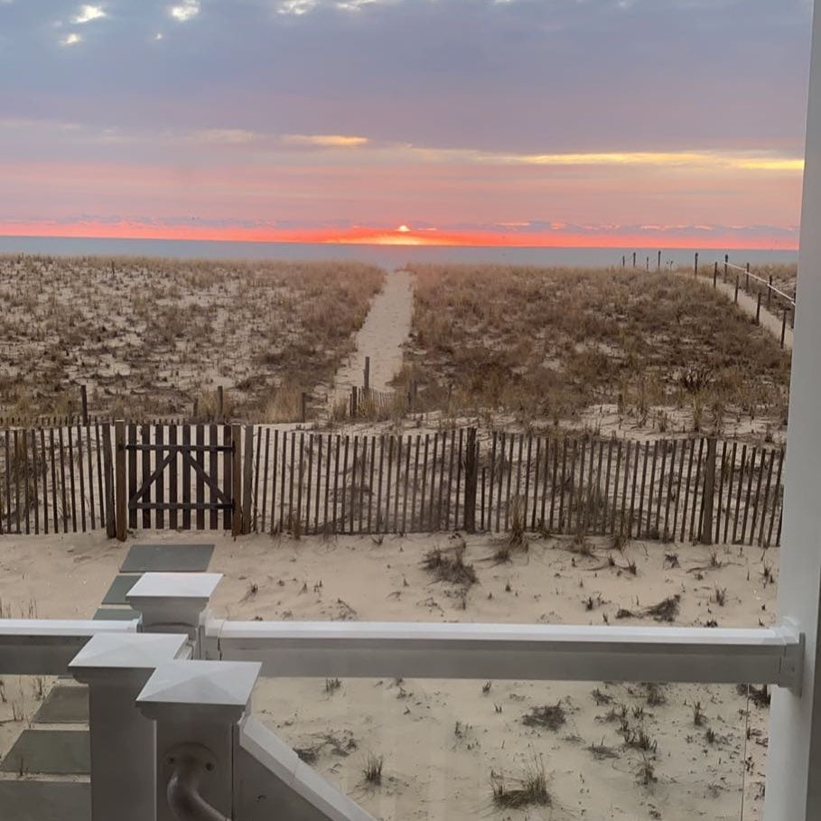 LBI This mornings sunrise brought to you by  thank you  for the photo               …